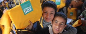 ShelterBox and Hand In Hand for Syria work to help displaced families
