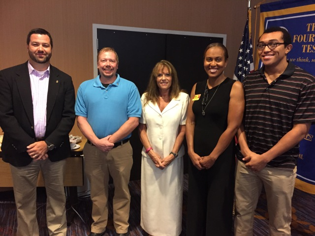 Rotary New Members August 2015
